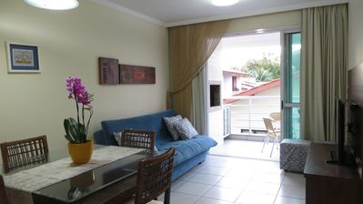 Photo for Sound of sea waves | Beautiful and comfortable AP with 2 suites | 50 meters from the beach