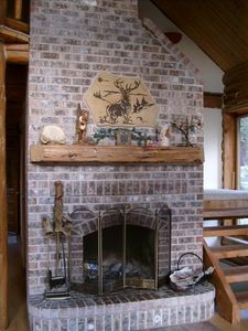 The Main Floor Fireplace