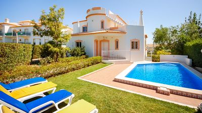 Photo for UP TO 45% OFF! Villa w/ pool, games room, AC, Wi-Fi,300m to beach