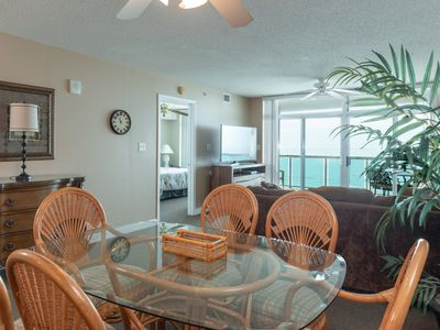 Photo for Crescent Keyes - 1008 The stunning view is king in this Crescent Keyes ocean-front condo!