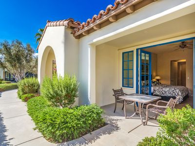 Photo for Best Location! Single Story Poolside Villa with yard across from Clubhouse (C72)