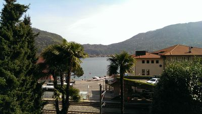 Photo for Casa Luisa is near train, 5 minute walk into Italy,  Enjoy the lake and woods!