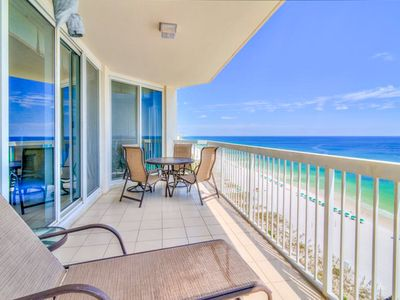 Photo for Silver Beach Towers 1205 E-2BR BCHFRONT!☀OPEN Apr 21 to 23 $1,019☀ 2 Pools!
