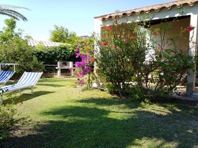 Photo for Villa with garden 200 meters from the sea of Costa Rei, convenient and close to services