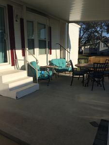 Sit out on the porch and enjoy the Florida weather