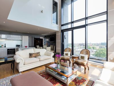 Photo for Stunning 2 bed Penthouse Apartment in Battersea