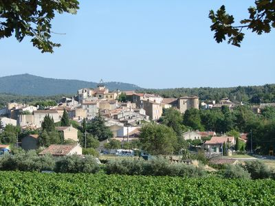Photo for Pretty house in a provencal village at the foot of Sainte Victoire