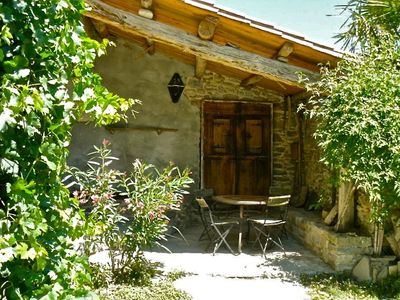 Photo for Charming family cottage with swimming pool, at the foot of the Pyrenees, Ainsa Aragon Sobrarbe