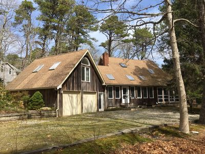 Photo for Oak Bluffs home, private, quiet neighborhood, convenient to town and beach