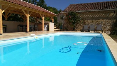 Photo for 3BR Farmhouse Vacation Rental in Cuzorn, Nouvelle-Aquitaine