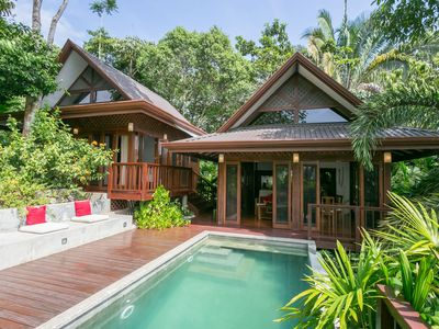 Photo for Balinese style home in the middle of the jungle and still minutes from the beach
