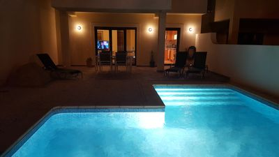 Photo for Villa with private pool in Burgau, 200m. from villa center, and 200m. from beach