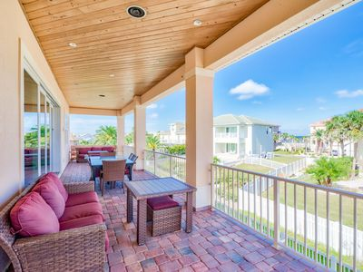 Photo for 8BR Beach Compound w/ 2 Private Pools, Great for Big Groups - Walk to Beach