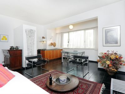 Photo for Spacious Sostene  apartment in Appio Latino with WiFi & private parking.