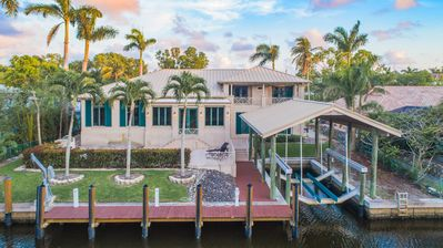 Photo for Dual Waterfront Views in Exclusive Aqualane Shores!