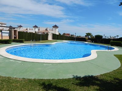 Photo for 2 bed, 1 bath apartment Lomas de Cabo Roig, 2 communal pools