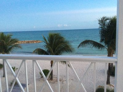 Photo for Beautiful Beach-Front Townhouse!