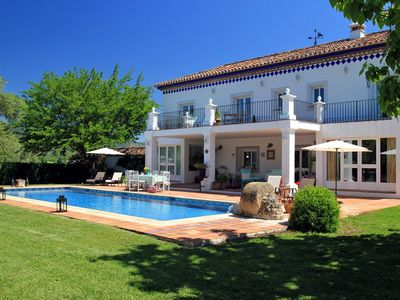 Photo for CHARMING VILLA near Ronda with Pool & Wifi. **Up to $-882 USD off - limited time** We respond 24/7