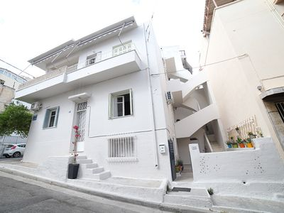 Photo for A sunny house with yard and balcony, located at Filopappou area, Koukaki, Athens