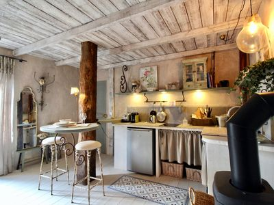 Photo for Le Cochon Content - Romantic apartment for two