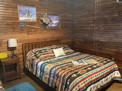 Photo for Newly built Luxury CHIEF CABIN Explore the Wichita Mountains Relax & Rewind