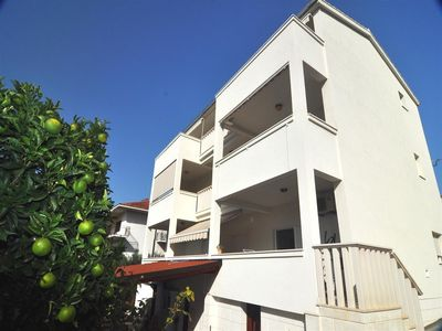 Photo for Apartments Ivo, (14113), Okrug Gornji, island of Ciovo, Croatia