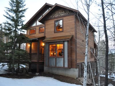 Photo for Sawtooth Lodge - Family Cabin with private hot tub and Shared Pool!