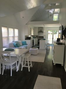 Photo for Beautiful 2 bedroom 1 bath Cottage located in Avon 4 blocks to the beach
