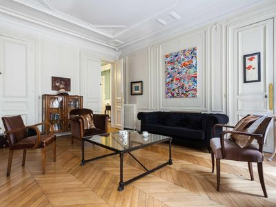 Photo for Rue de Miromesnil - luxury 4 bedrooms serviced apartment - Travel Keys