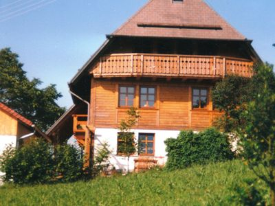 Photo for Fantastic apartment on a small animal farm in the Black Forest with balcony