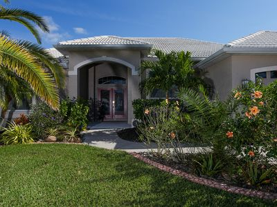 Photo for Outstanding! Luxury pool home in beautiful Venice Palms