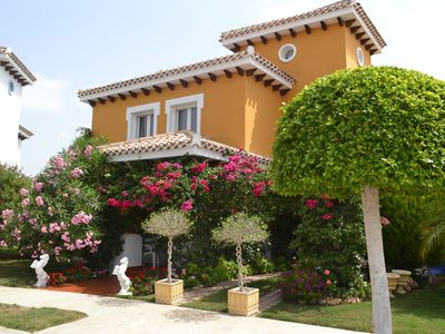 Photo for MurciaVacations - Stunning Villa with 3 Bedrooms with Pool and Hot Tub - Mar Menor PA26MM