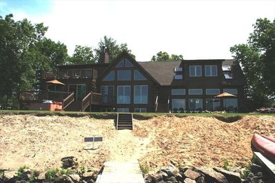 Log Cabin On Lake Approx 30 Min From Wis Dells Arkdale
