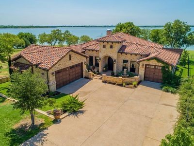 Photo for Luxury Tuscan-Style Home on Lake Lewisville