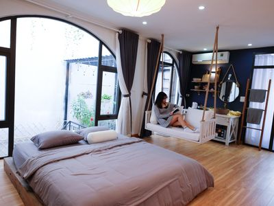 Photo for The Gallery House - Sweet Studio with Wooden Bathtub in Ha Noi Center #A4