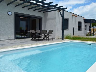Photo for beautiful new villa with pool