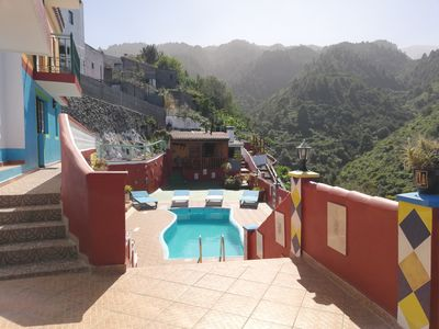Photo for Tkasita Galicia 4, Pool with Views in Barlovento. La Palma, Canary Islands