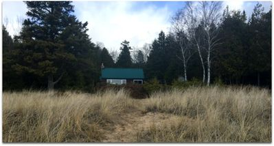 Photo for STONINGTON CLEARVIEW COTTAGE:  Private Lake Michigan cottage!