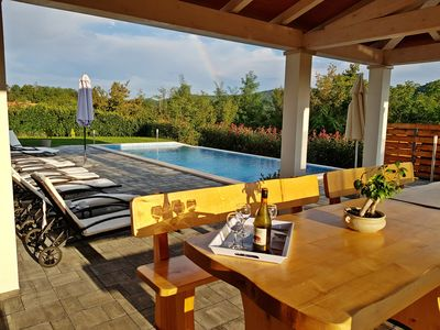 Photo for Lovely house near the famous waterfall,with large private pool and garden