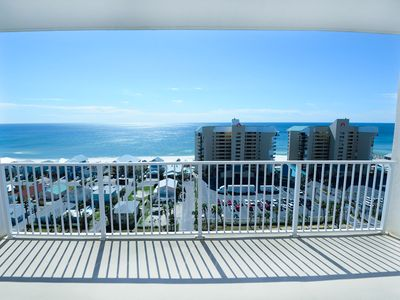 Photo for ☀Laketown Wharf 1403-1BR+Bunks☀Gulf Views! Sep 4 to 6 $450 Total! 225ft to Beach