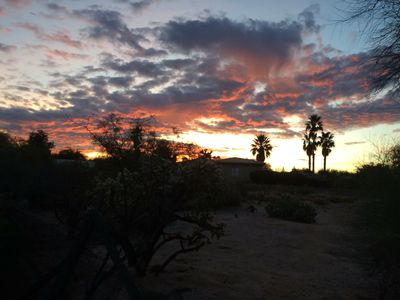 Photo for The homestead is in NW Tucson, with easy access to all Tucson's adventures!