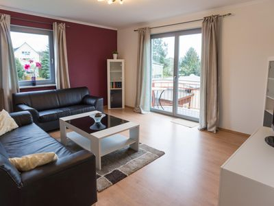 Photo for Modern, chic apartment with balcony & garden, free Wi-Fi