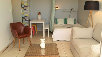 Photo for Beautiful studio with sea view in Saint-Denis Reunion Island