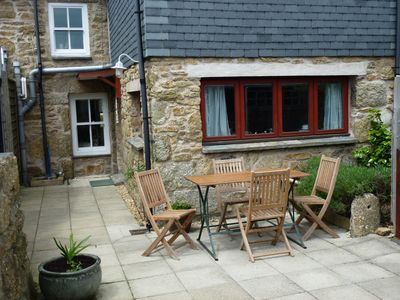 Photo for Cariad, a well appointed character cottage with private garden, close to beaches