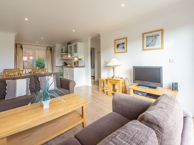 Photo for A single-storey, two-bedroom cottage with an open plan living area.