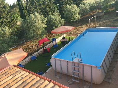 Photo for Villa Manghisi with swimming pool