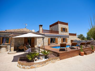 Photo for Son Roig, idyllic place, in the Heart of Mallorca, near the beach and mountains