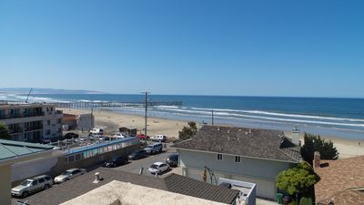 Photo for Stylish Townhome Mere Steps to the Beach w/ Free WiFi & Panoramic Ocean Views