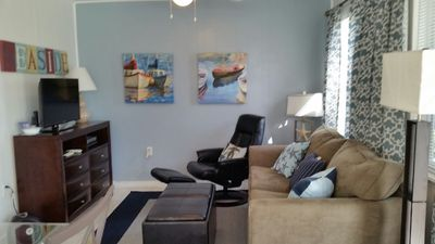 Photo for 1 minute walk to beach!Enjoy carefree life of childhood vacations &modern flair!