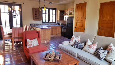 Large, open floor plan is great for entertaining or relaxing as a family.